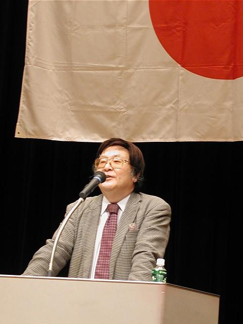 日本世論の会会長・三輪和雄氏