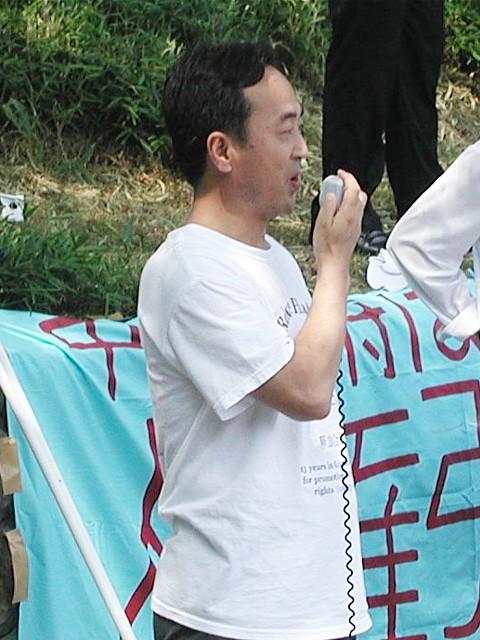 モンゴル自由連盟党日本代表ダシ・ドノロブ氏