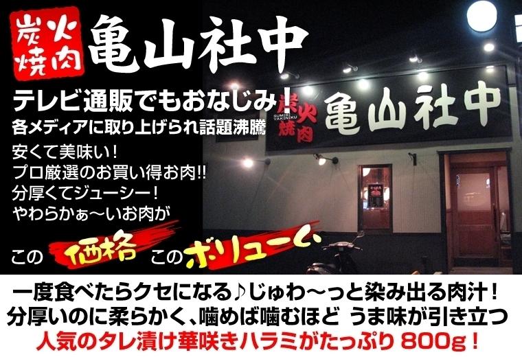 亀山社中バラエティ 肉福袋 (6種 計3kg入り)【2012年1月31日まで!期間限定】
