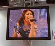 WF-イベントブース・高橋洋子熱唱