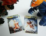 セブンにキングジョーブラック・大怪獣バトルカード!