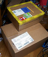 またもや海外から荷物が到着・・・