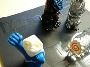 サンガッツ本舗 怪獣派 指人形