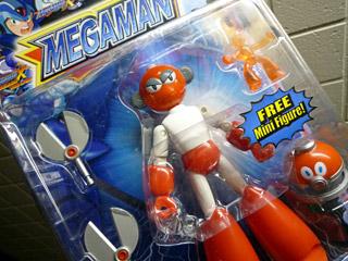 MEGAMAN Figure - CUTMAN
