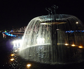 昭和記念公園 Winter Vista Illumination 2009