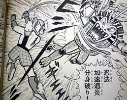 漫画 秘伝忍法帳