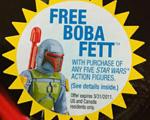 SWビンテージシリーズ - 幻のオールドケナーBOBA(復刻版)がもれなく当たる・・・のはアメリカ在住者のみ。ズコー!