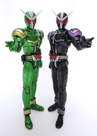 フィギュアーツ 仮面ライダーW サイクロンサイクロン&ジョーカージョーカーDXセット