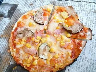 学園祭ピザ