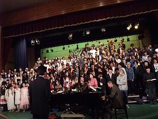 自由の森学園高校卒業式