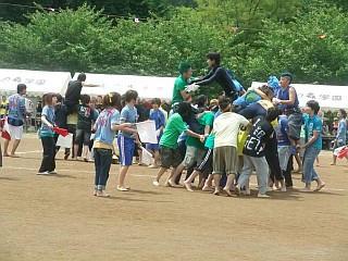 自由の森学園体育祭2010