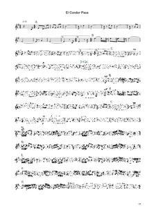 El Condor Pasa-instant score sample
