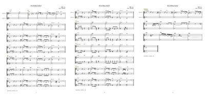 クリスタルスカイ-plain score-sample