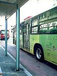 県営バスなのに緑色