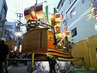 銅座町の南蛮船です