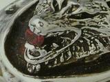 GODSIZE WOLF RING w / Garnet in the mouth  ゴッドサイズ ウルフリング ガーネットマウス