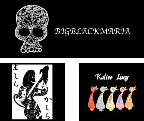 BIGBLACKMARIA,ビッグブラックマリア,Kalico Lucy,カリコルーシー,ましらかしら,ラ・ムー,オッドアイ,猫,ねこ,ネコ,シルバー,ジュエリー,アクセサリー