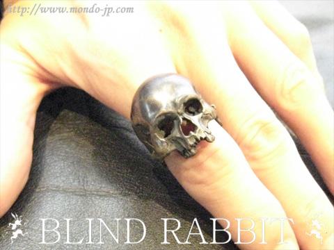 BLIND RABBIT, ブラインド ラビット,リング,指輪,Evolution I Aging Brass,ブラス,真鍮,ブラック,黒,シルバーアクセ,ブランド,ドメスティック