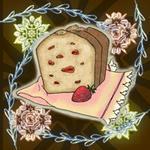 去年描いたパウンドケーキ