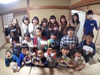 TIDE POOL 特別授業でした!日本デザイナー学院の若き先生たち! 交流してみます。