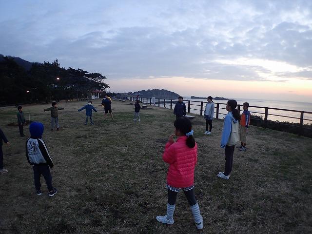 TIDEPOOL 木曜日「しぜん」 今年最後の駅伝練習!