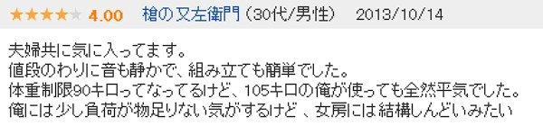 アルインコAFB4511口コミ評判レビュー4