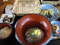 宮崎県 高千穂峡 昼食1