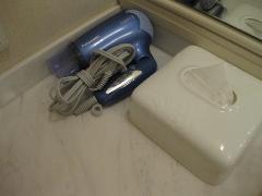 宮崎県 シェラトン・グランデ・オ―シャンリゾート 客室 洗面台の備え