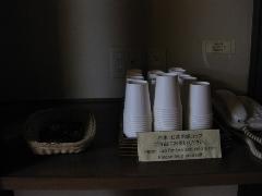 宮崎県 シェラトン・グランデ・オ―シャンリゾート 浴場 待合室 飲み物サービス2