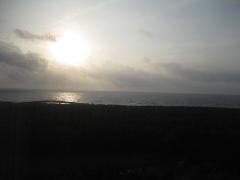宮崎県 シェラトン・グランデ・オ―シャンリゾート 客室 朝の窓の風景