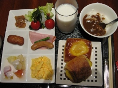 宮崎県 シェラトン・グランデ・オ―シャンリゾート 朝食 バイキング2