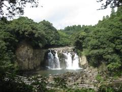 宮崎県 関之尾の滝2