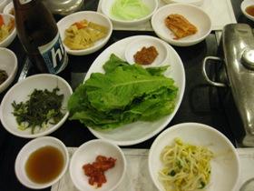 骨付きカルビ&半冷麺2