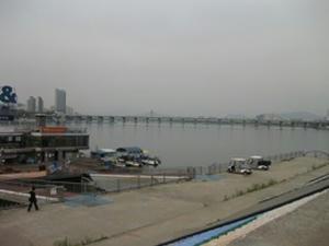 漢江クルーズ2