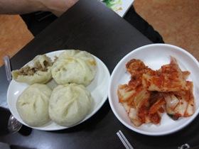 南大門市場で昼食1