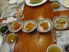 チョンサチョロン/韓定食4