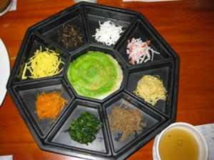 チョンサチョロン/韓定食1