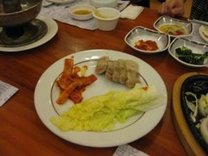 チョンサチョロン/韓定食11