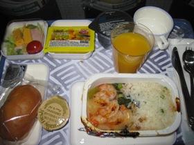 KOREAN AIR 機内食(昼)