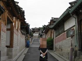 韓国旅行 ソウル3日目 北村(プッチョン)の路地 1