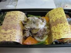 韓国旅行 4日目 JAL機内食 行楽弁当/時鳥(ほととぎす)1