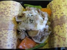 韓国旅行 4日目 JAL機内食 行楽弁当/時鳥(ほととぎす)3