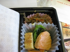韓国旅行 4日目JAL機内食 行楽弁当/時鳥(ほととぎす)4