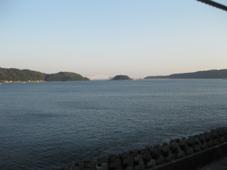 南紀 2日目 南紀串本温泉 浦島ハーバーホテル ハーバーイン 客室の窓からの眺め