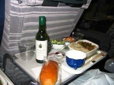 1日目 タイ・バンコク旅行 JAL 機内食