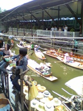 3日目 タイ・バンコク旅行 ダムナンサドゥアクの水上マーケット