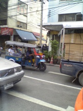 3日目 タイ・バンコク旅行 トゥクトゥク