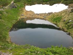 旭岳ロープウェイ 17 すり鉢池(夫婦池)
