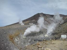 旭岳ロープウェイ 29 噴気孔
