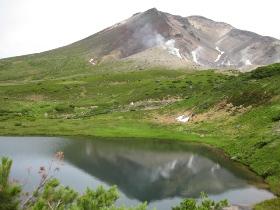旭岳ロープウェイ 鏡池(夫婦池)